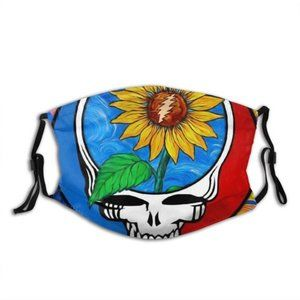Grateful dead Face Cover Headband Balaclavas